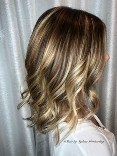 Hand painted balayage