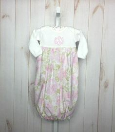 Celebrate Life Baby Girl Gown