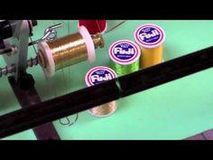 Custom Thread Weaving & Cross Wraps - Part 7: Cross Wrap & Diamond Wrap Demonstration - YouTube