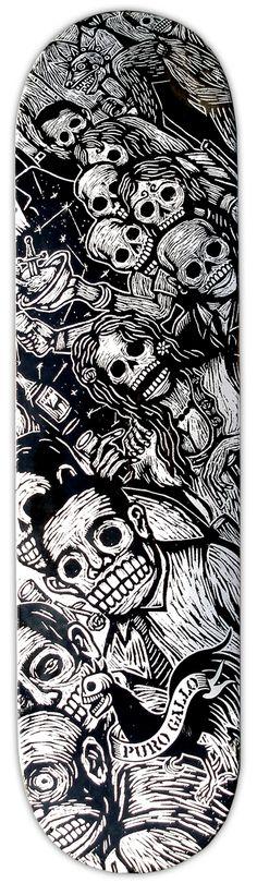 Artemio Rodriguez, printmaker :: skateboard design