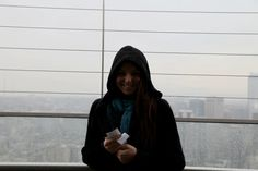 me.. on top of the space needle!