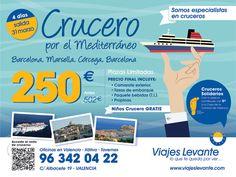 Gráfica realizada para Viajes Levante #comunicación #creatividad #agencia #publicidad #valencia