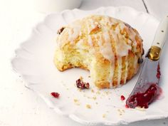 Make the dough for these Cranberry-Orange Scones a day early, cut out the scones and refrigerate them. In the morning, simply throw them in the oven and drizzle with an orange glaze for a no-stress hot breakfast.