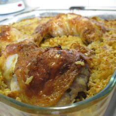 Kana ja riisi -herkku uunissa - Kotikokki.net - reseptit