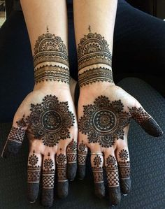Indian weddings mehndi Designs