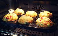 Leckere gefüllte Eiermuffins – Essen ohne Kohlenhydrate