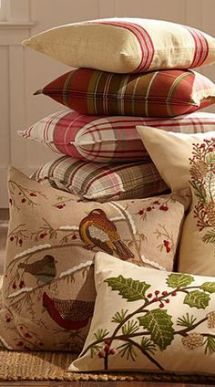 Rustic Pillow Covers