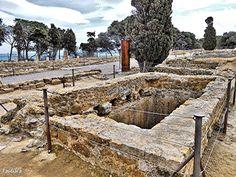 Cisterna en Macellum. Empúries. Girona.