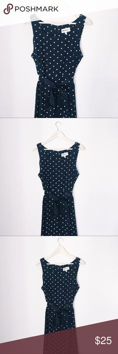 CLASSIC POLKA DOT DRESS VINTAGE ZOOEY DESCHANEL BUST: 21 inches. LENGTH: 42 inches. Studio One Dresses