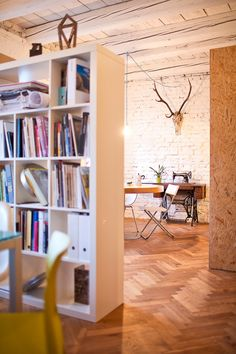 office space 9 Old Flat Converted Into Highly Creative Office Space in Bratislava