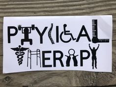 Occupational Therapist/Physical Therapist/Nursing Decal/OT/PT/Occupational Therapy/Social Work/Car decal/Pharmacist/Gifts for Her Physical Therapy Quotes, Physical Therapy Student, Physical Therapist, Medical Wallpaper, Pta School, Pharmacology Nursing, Occupational Therapist, Useful Life Hacks, Creative Decor