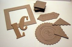 Cricut chipboard cutting guide