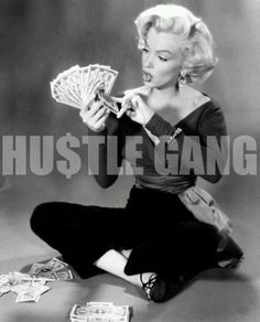 - MM --> Marilyn Monroe, & Money ! Thats Wassup c;