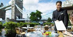 The Brasserie at the Tower Hotel - London . Croatia Travel, Thailand Travel, Italy Travel, Bangkok Thailand, Oahu Restaurants, London Restaurants, The Tower Hotel, Bridge Restaurant, London Food