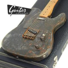 Steelcaster SS Maple Fretboard - RustOmatic - Guitares Electriques James Trussart - James Trussart - Autres Marques