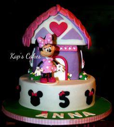 Minnie Mouse house.