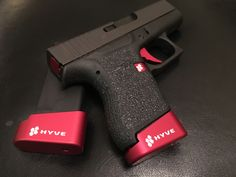 Glock 43 with Hyve Technologies upgrades. Hyve Rocks!