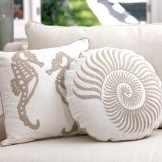 seaside pillows
