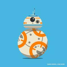 Star Wars BB-8 roll animation cycle by GoshaDole