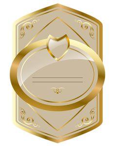 Крем и этикетки золото роскошные PNG клипарт изображения
