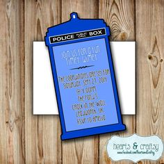 Doctor Who Birthday Party Ideas | Photo 16 of 23 | Catch My Party