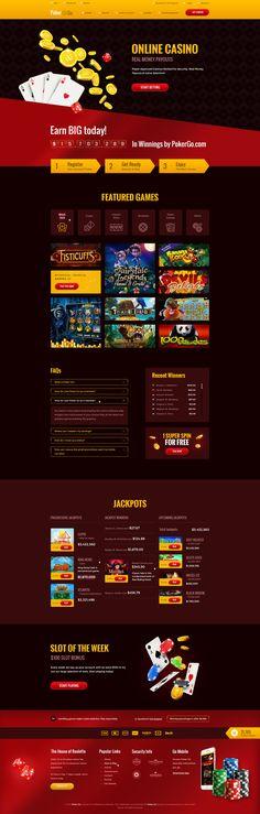 Poker Go #psd #themeforest #envato #gambling #casino #slots #blackjack #creative #photoshop #diadea #diadea3007