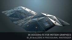 """This tutorial is part of the series """"Houdini FX for Motion Graphics""""."""