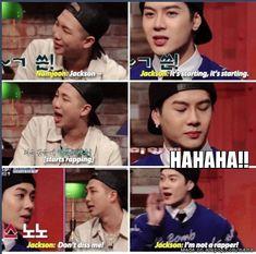 Jackson & Rap Monster :D | allkpop Meme Center