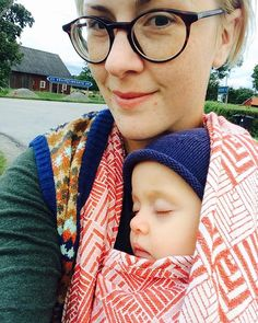 Lotta and little E. who fell asleep in Winona Sanguine