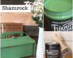 No Prep Furniture Paint ~ Shamrock