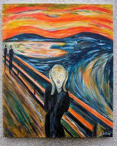 El Grito de Munch #SigloXX  #Noruega #Edvard