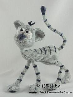Kit the Cat - Amigurumi Pattern   Craftsy