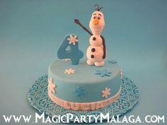 Tarta Olaf de Frozen - Olaf Frozen Cake