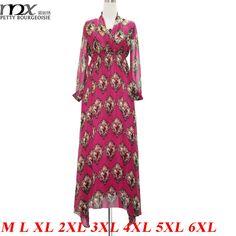 MNX Hot Sale Robes Femme Women Dress Summer 2015 Long Asymmetrical Floral Print Romantic Italy Classical Party Dresses 6XL - http://www.aliexpress.com/item/MNX-Hot-Sale-Robes-Femme-Women-Dress-Summer-2015-Long-Asymmetrical-Floral-Print-Romantic-Italy-Classical-Party-Dresses-6XL/32361418732.html