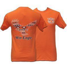 T-Shirt, Comfort Color Tribal Eagle | Auburn University Bookstore