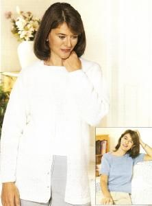 Peter Gregory 7167 Twin Set For Ladies Knitting Projects, Twin, Lady, Long Sleeve, Sleeves, Women, Fashion, Long Dress Patterns, Women's