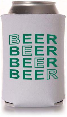 Customizable Beer Koozie Designs #koozies
