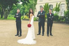 Witzige und ausgefallene Gruppenfotos auf der Hochzeit
