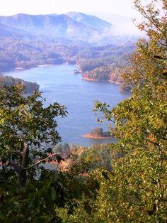 East Tennessee  Watauga Lake  NC/TN border! Best lake and is So pretty.