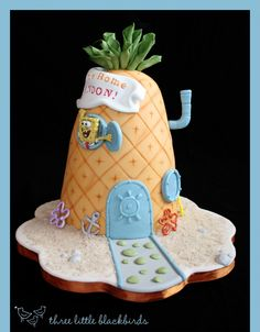 A Pineapple Under the Sea