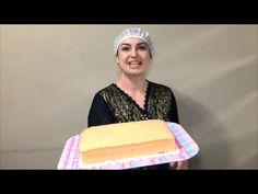Pão de ló de chocolate Fácil.Gigante, Perfeito para tortas e bolos decorados.- Culinária em Casa - YouTube