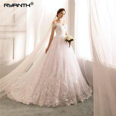 e11e92427d0 Luxury Ball Gown Robe De Mariage 2019 Hot Sale Off The Shoulder Lace Wedding  Dress Cheap Vestido De Noiva Bridal Gowns