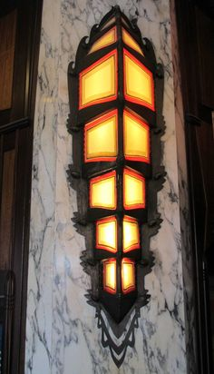 lighting in Tuschinski, an Amsterdam School, Jugendstil, Art Nouveau and Art Deco movie theater (1921), Reguliersbreestraat, Amsterdam, the Netherlands