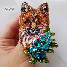 Fox Jewelry, Bead Jewellery, Beaded Jewelry, Jewelery, Beaded Brooch, Brooches Handmade, Tassel Earrings, Custom Clothes, Wedding Jewelry