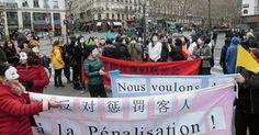 osCurve   Contactos : Trabajadoras sexuales se manifiestan en París cont...