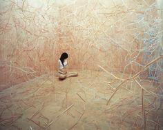 Artist Creates Elaborate Non-Photoshopped Scenes in Her Small Studio