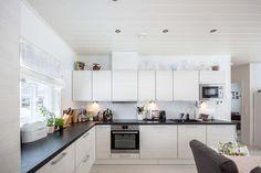 Muurametalot Decor, Furniture, Kitchen Cabinets, Cabinet, Deco, Table, Home Decor, Kitchen