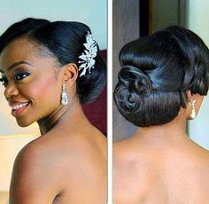 25.Wedding Hairstyle for Black Women