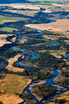 The Yellowstone River, Montana. The Yellowstone River is a tributary of the Missouri River, approximately 692 miles long, in the western United States. (V)