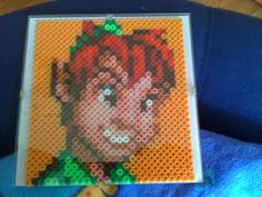 Peter Pan Beads by on DeviantArt Winnie The Pooh, Mickey Mouse, Perler Bead Disney, Make Pictures, Christmas Projects, How To Make Beads, Perler Beads, Peter Pan, Beading Patterns